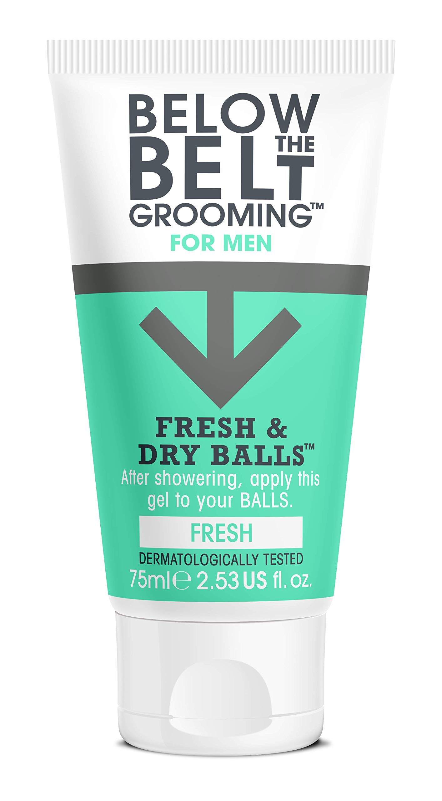 Below The Belt Grooming Fresh & Dry Balls – Fresh – 75ml 541896