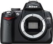 Nikon D5000 SLR-Digitalkamera (12 Megapixel, Live-View, HD-Videofunktion) Gehäuse (Generalüberholt)