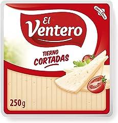 El Ventero Queso Tierno Cuña Cortaditas, 250g