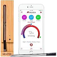 MEATER | Termometro Bluetooth Fino a 10 Metri a Sonda Senza Fili Per Forno, Grigliate, Barbecue. App in Italiano…