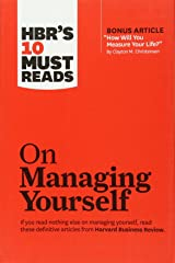 HBR's 10 Must Reads on Managing Yourself (Harvard Business Review Must Reads) Paperback