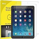 JETech 2 Stücke Schutzfolie für iPad (9,7-Zoll, 2018/2017 Modell, 6./5.Generation), iPad Air 1, iPad Air 2, iPad Pro 9,7-Zoll, Gehärtetem Glas Displayschutzfolie