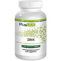 Plusvive - 365 comprimés de zinc avec matrice de biodisponibilité, (25 mg)