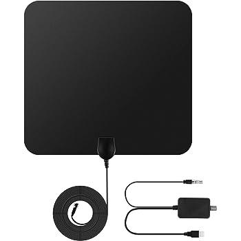 antenne tv int rieur puissante rayon de 75 miles 30db. Black Bedroom Furniture Sets. Home Design Ideas