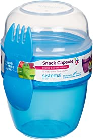 Sistema Snack Capsule to Go, Assorted Colours, 515 ml