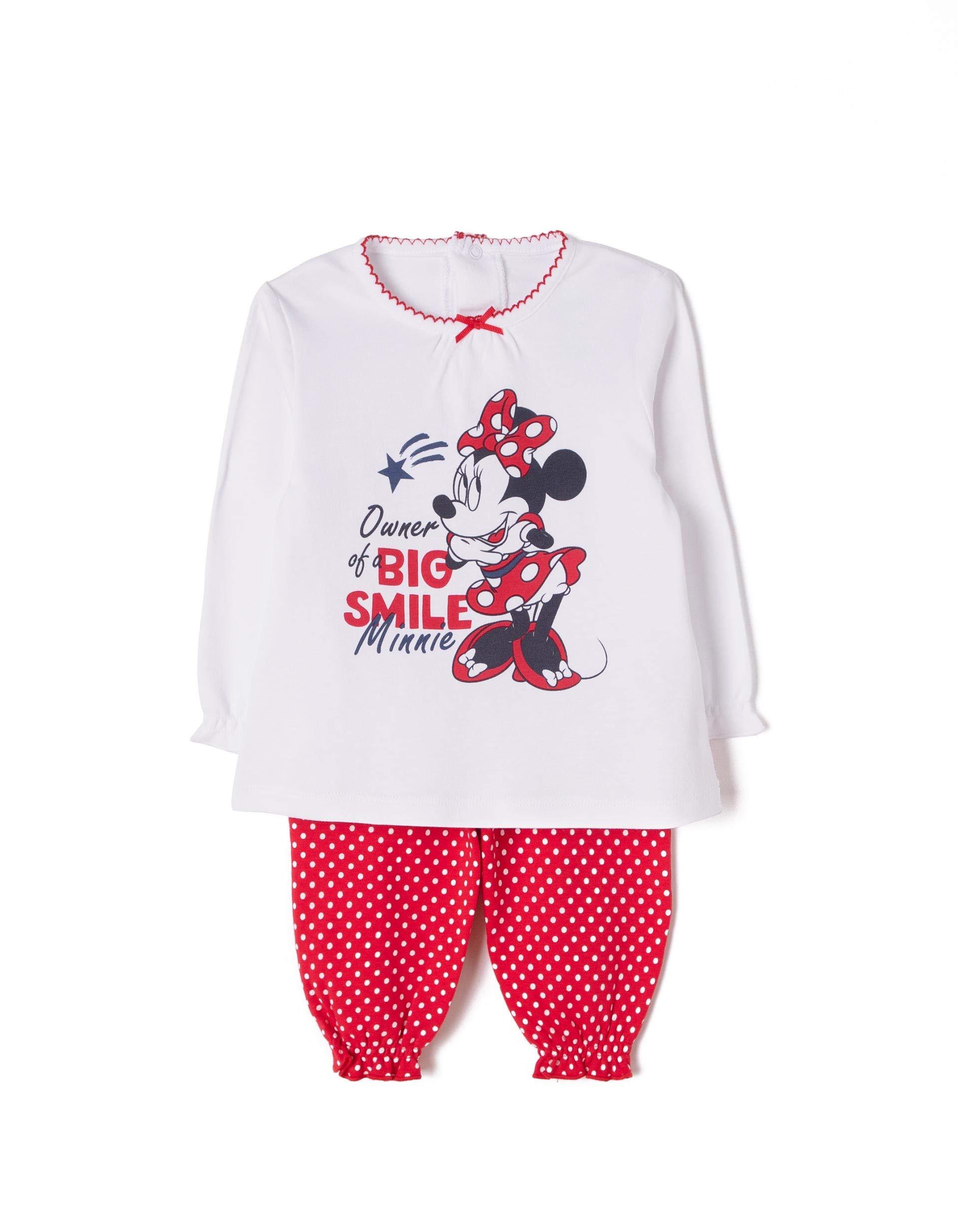 ZIPPY Minnie Conjuntos de Pijama para Bebés 1