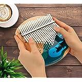 21 Touches Finger Thumb Piano, Yideng Thumb Piano Kalimba avec Kalimba Song Book Ocean World Finger Piano Inclut un marteau,