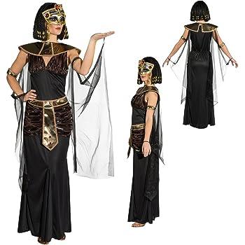 35c6b8d06f91 NET TOYS Costume da Cleopatra Abito da Donna egiziana M 44/46 - Vestito da  Regina egizia Outfit regnante egiziana Travestimento per Carnevale Stile ...