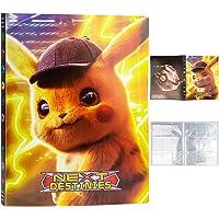 Egmelos Album Pokemon, 24 Pagine Raccoglitore Carte Pokémon, Raccoglitore Porta Carte per Pokémon, Porta Carte Pokemon…
