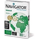 Navigator Universal Carta Premium per ufficio, Formato A4, 80 gr, Confezione da 1 risma da 500 Fogli