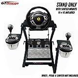 GT OMEGA support de volant pour volant Thrustmaster TX Racing Ferrari 458 Italia & Pédales, Xbox One, PC - Compact…