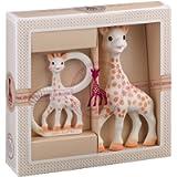 Sophie la girafe Sophiesticated Teether Set - Baby Teething Toy Gift Set