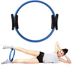 FITSY® Yoga Pilates Resistance Exercise Ring Circle for Core Strengthening, Full Body Toning & Fitness Workouts