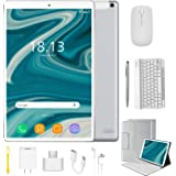 4G Tablet 10.1 Pollici con WIFI Offerte Android 9.0 Quad Core 4GB RAM 64GB ROM/Fino a 128GB 8000mAh WIFI Tablet PC…