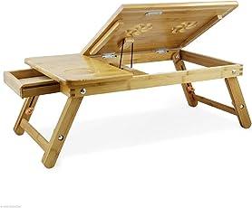 Anva Multipurpose Desk Serving Bed Tray Breakfast Table Baby Table Tilting Top