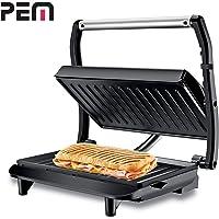 Pem Grill Panini et Sandwich, Burger PG-010 850W