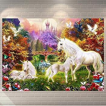 5D DIY Swift Horse Diamond Painting Mosaic Cross Stitch Rhinestone Home Decor