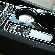 wroadavee Interior Electronic Handbrake Frame Cover Trim