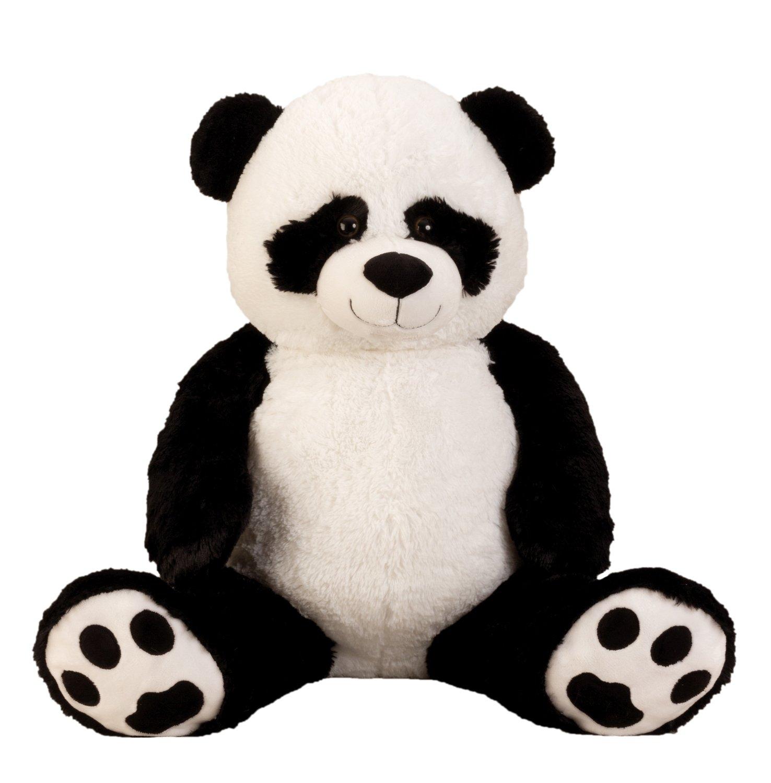 l'ultimo 1b511 cbb9c Panda gigante de peluche XXL 100 cm de altura de la felpa animal de peluche  de la panda suave y aterciopelada - para el amor - Pandatodos