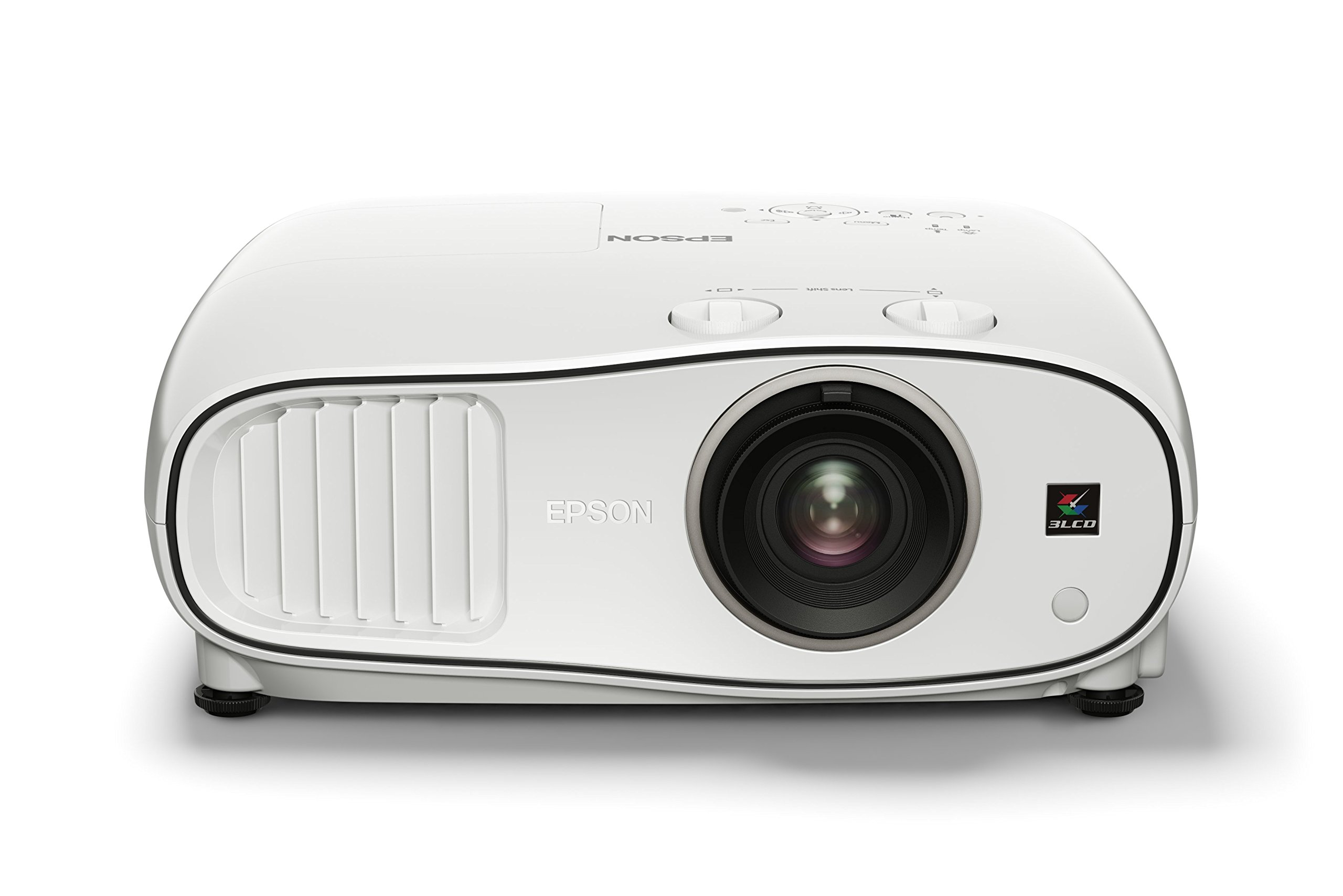 71t2GjPtc4L - Epson EH-TW6700W 3LCD, Full HD Super Resolution, 3000 Lumens, 300 Inch Display, Wi-Fi, Wide Lens Shift Range, Home Cinema 3D Projector - White