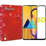 ValueActive Screen Guard For Samsung M30S / M30 Tempered Glass 6D Full Glue Cover Edge-Edge Anti-Scratch Anti-Fingerprint Tem