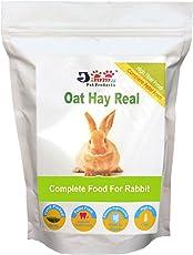 JiMMy Oat Hay Real High Fiber Pellet for Rabbit, 400g (SGP164)