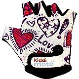 KIDDIMOTO Guantes de Ciclismo sin Dedos para Infantil (niñas y niños) - Bicicleta, MTB, BMX, Carretera, Montaña