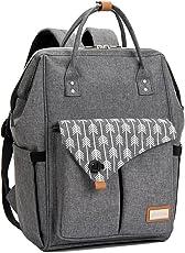 Baby Wickelrucksack Wickeltasche mit Wickelunterlage Multifunktional Große Kapazität Babytasche Reisetasche für Unterwegs