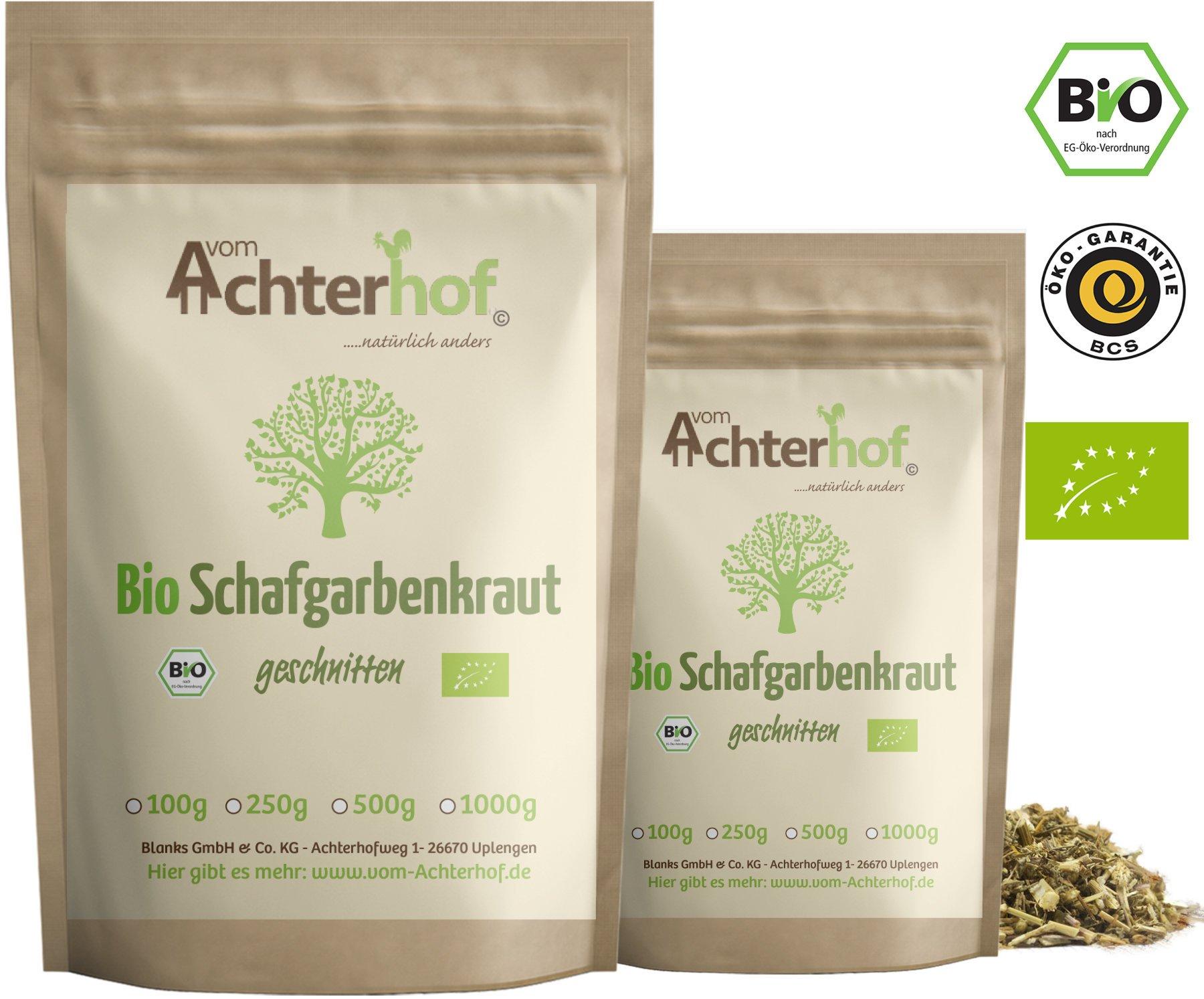 Schafgarbenkraut-BIO-250g-Schafgarbentee-Schafgarbe-Tee-organic-yarrow-herb-vom-Achterhof