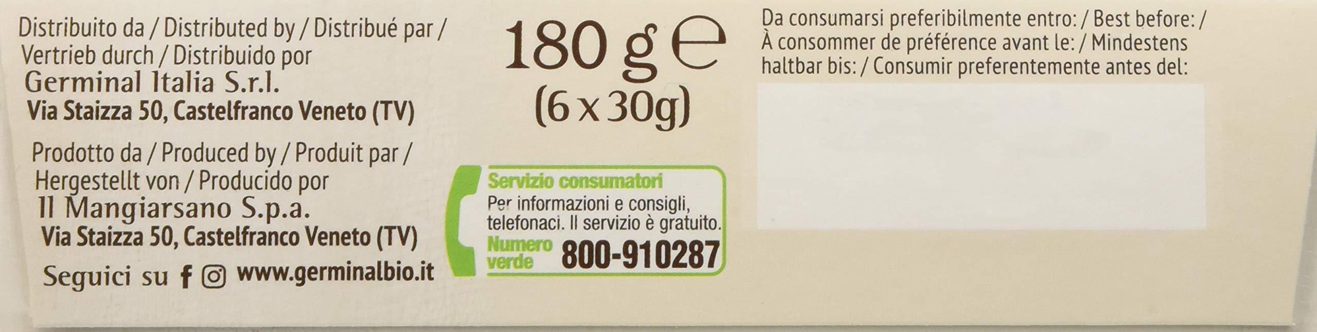Germinal Bio Barretta Cacao Quinoa - 1800 gr, Senza glutine 5 spesavip