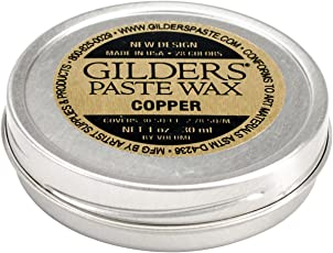 "Baroque Art Gilders Paste - Highlight Metal, Wood and More! Copper"" 1.5 oz"""