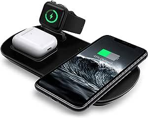 Mixmart 3 1in 1 Wireless Charging Station For Iwatch 5 Elektronik