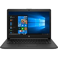 HP 14 10th Gen Intel Core i5 14-inch HD Laptop (i5-10210U/8GB/512GB SSD/Win 10/MS Office/Win 10/Jet Black/1.5 kg), 14…