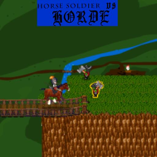 The Brave Horserider vs the Horde (Sonic Vs. Mario-spiele)