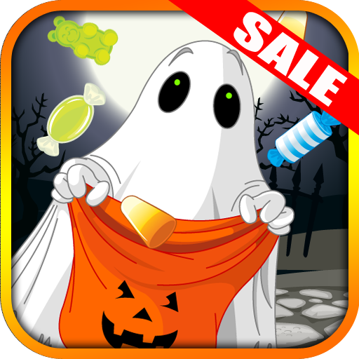 Trick or Treat Candy Drop Halloween Kids App Tilt Game(Kindle Tablet Edition) (Halloween Catch Candy)
