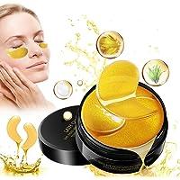 Eye Mask, Augenpads, Anti Aging Pads, 24k Gold Collagen Augenmaske, Feuchtigkeit Eye Patches, für Feuchtigkeit Spendende…