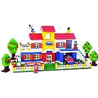 Playking Mega Jumbo Architect - Building Blocks for Kids as Well as Adults (900+ Blocks) - Blocks Game