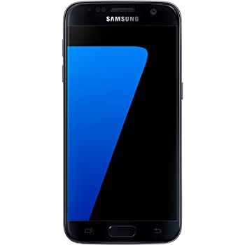 Samsung Galaxy S7, Smartphone libre (5.1'', 4GB RAM, 32GB, 12MP) [Versión británica: No incluye Samsung Pay, acceso a promociones Samsung Members ni enchufe europeo], color Negro