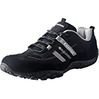 Knixmax Women's Men's Lightweight Walking Trainers Hiking Trekking Approach Shoes Breathable Low Rise Outdoor Boots