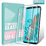 SGIN Galaxy S8 Plus Verre Trempé, [Lot de 2] Verre Trempé écran Protecteur, Anti Rayures, 9H Dureté, sans Bulles, Facile à Installer, pour Samsung Galaxy S8 Plus - Transparent