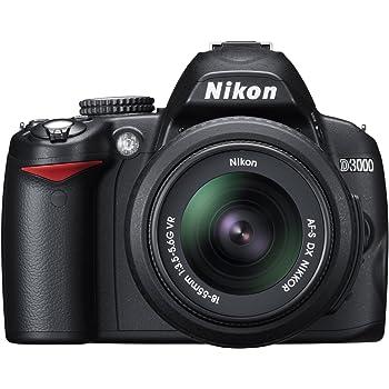 Nikon D3000 - Cámara Réflex Digital 10.2 MP (Objetivo 18