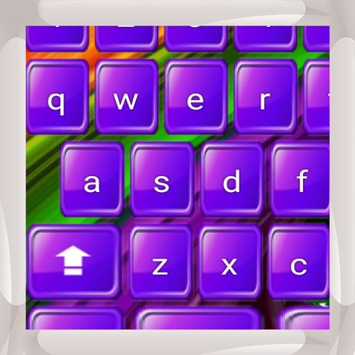 Lila Tastaturen