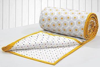 AURAVE Riva Cotton 1 Pc Geometrical Dual Color Reversible Dohar
