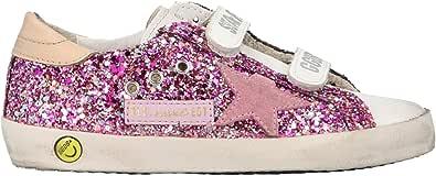 Golden Goose Luxury Fashion Ragazza G36KS321I9 Viola Pelle Sneakers   Ss21