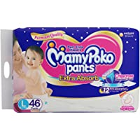 MamyPoko Extra Absorb Diaper Pants - 46 Pants (Large)