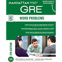 GRE Word Problems (Manhattan Prep GRE Strategy Guides Book 5)