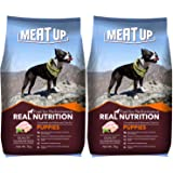 Meat Up Puppy Dog Food, 3 kg (Buy 1 Get 1 Free)