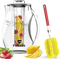 Fruitalite Fruit & Tea Infuser Water Pitcher/Jug/Bottle - 2.75 Ltr/2750 Ml