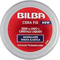 Bilba Cera Con Semi Di Lino E Cristalli Liquidi, Modellante A Tenuta Elastica, Formula Professionale, Dona Volume E…