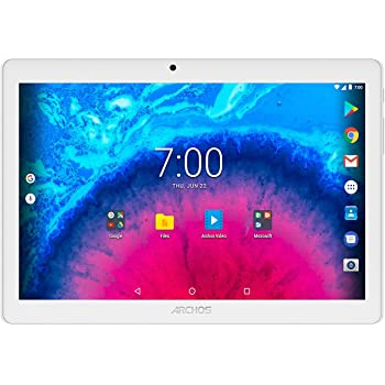 ARCHOS Core 101 3G 16GB silber-  3G Tablet  (10,1'' HD - 0,3/2MP - Quad core  - Metallgehäuse - Android 7.0 Nougat)